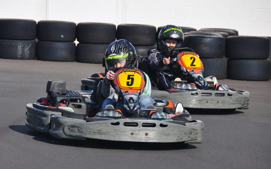 Ensimmäiset karting-junioreiden koulutukset vauhdissa